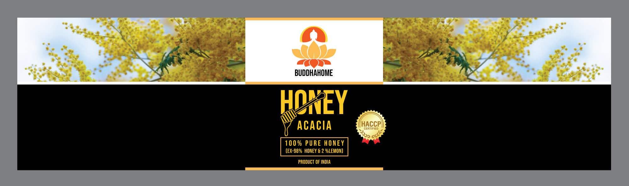 Kilpailutyö #                                        106                                      kilpailussa                                         Honey Label Designing Contest