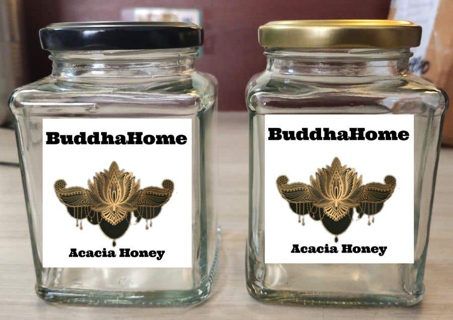 Kilpailutyö #                                        111                                      kilpailussa                                         Honey Label Designing Contest
