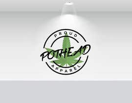 #298 for Proud Pothead Apparel - Logo and graphic designs af Sirajul08