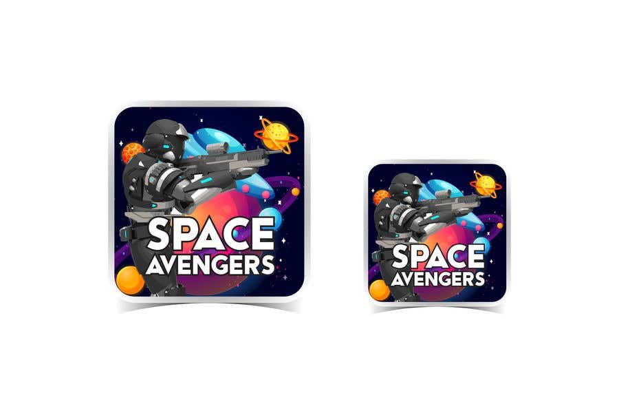 Konkurrenceindlæg #                                        36                                      for                                         Create icon for Space Avengers (Roblox game - 512x512 image - 3D rendered)