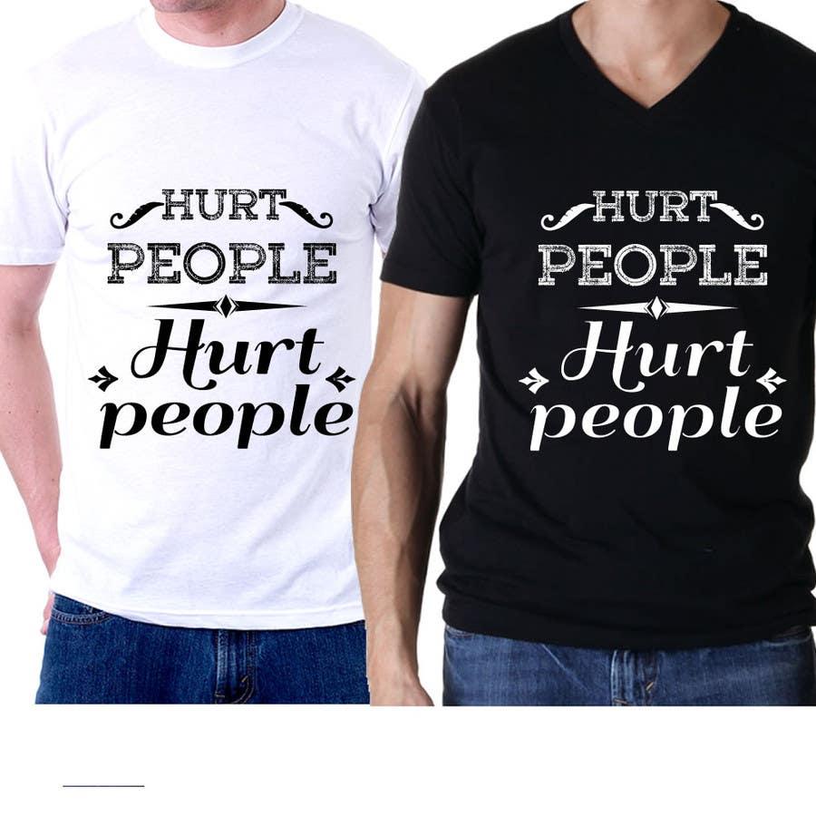 Bài tham dự cuộc thi #47 cho Design a T-Shirt for HURT PEOPLE