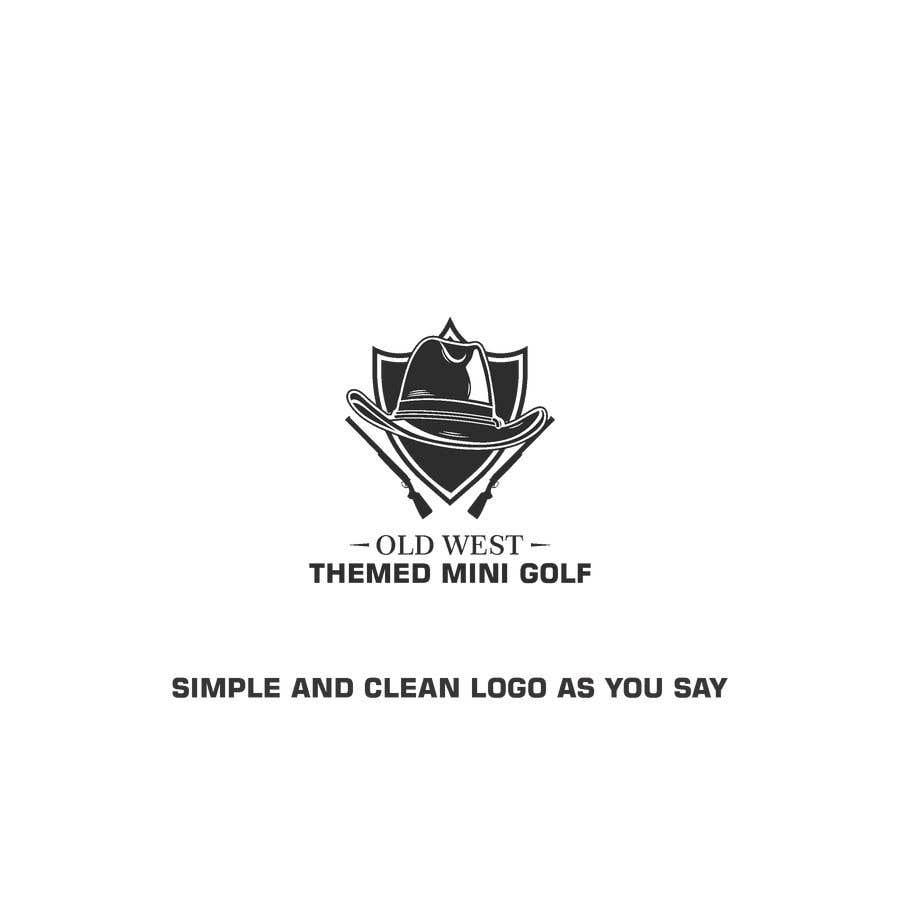 Kilpailutyö #                                        6                                      kilpailussa                                         LOGO -  Western Theme Mini Golf