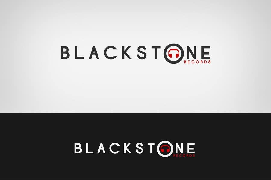 #74 for Logo Design for Blackstone Records by Lozenger