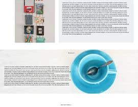 nº 12 pour Professional Draft or Predesign Startpage B2B E-Commerce - Mockup par LustreCreations