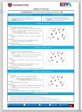 Penyertaan Peraduan #                                        13                                      untuk                                         Create a template for my soccer Scheme of work from my existing PDF to make look better