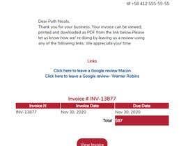 #24 untuk Inline CSS - HTML Contest - ShortCodes:  Simple Invoice Page oleh CarolinaCardoza