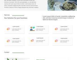 #17 untuk Design a Website Mockup oleh LustreCreations