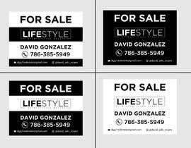 #59 untuk David Gonzalez - For Sale Sign oleh mdshifatsarkar
