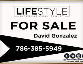 #50 untuk David Gonzalez - For Sale Sign oleh AbodySamy