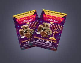#100 untuk Design a Flyer for a Chanukah Party oleh champaasin432