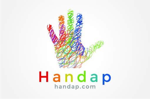 Konkurrenceindlæg #40 for Design a logo for Handap.com
