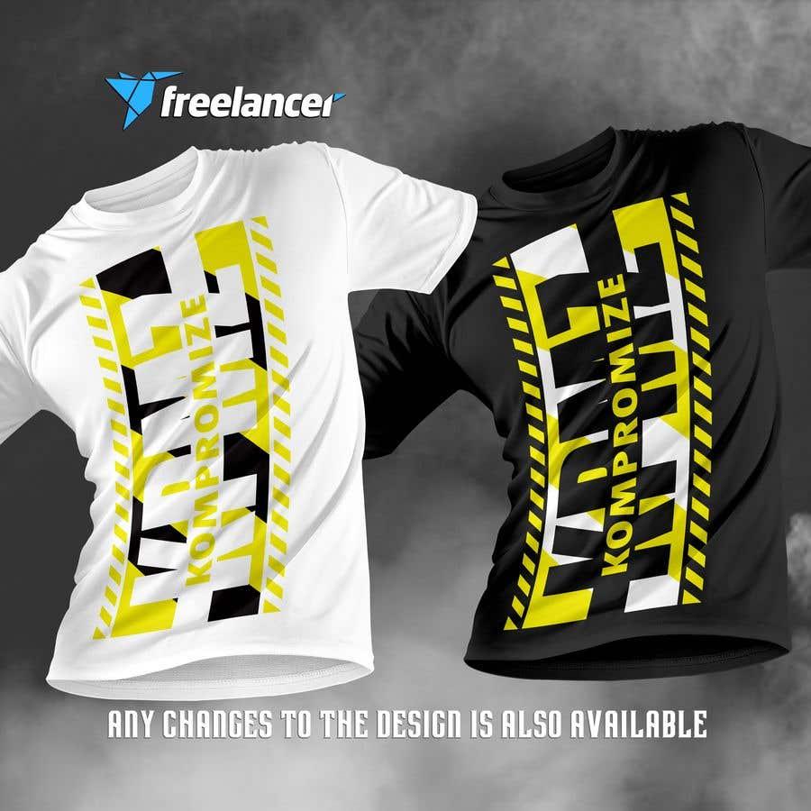 Penyertaan Peraduan #                                        66                                      untuk                                         Kompromize Logo and T-shirt Design