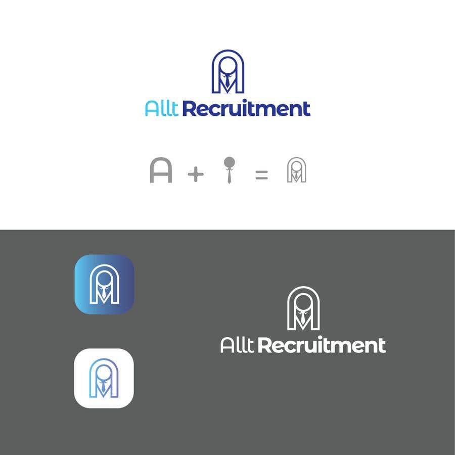 Penyertaan Peraduan #                                        98                                      untuk                                         Logo Design for Recruitment Website