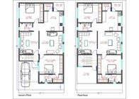 3D Modern Elevation of house and suggest any improvement in map için 3D Rendering21 No.lu Yarışma Girdisi