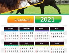 #38 for Calendar for 2021 by NaturalFitness20