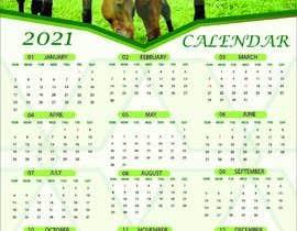 #41 for Calendar for 2021 by farhanaaktertupu