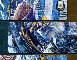 #97 for Diego maradona graffiti canvas art by tmaclabi