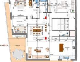 #14 untuk Design the architecture of home (190mq) oleh syslim