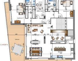 Nro 25 kilpailuun Design the architecture of home (190mq) käyttäjältä syslim