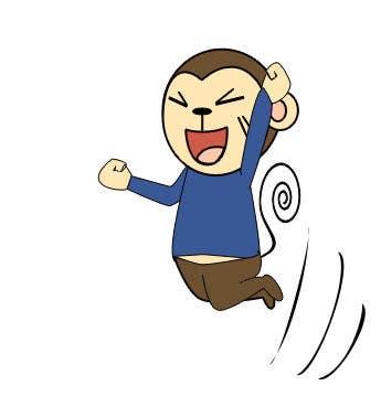 Konkurrenceindlæg #                                        17                                      for                                         Illustrate a monkey