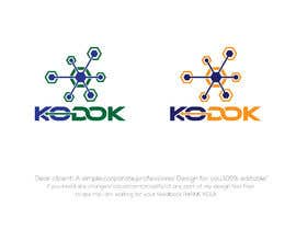 #1058 untuk Design a logo for an Artificial Intelligence software product on cloud called KoDoK AI oleh mihonsheikh03
