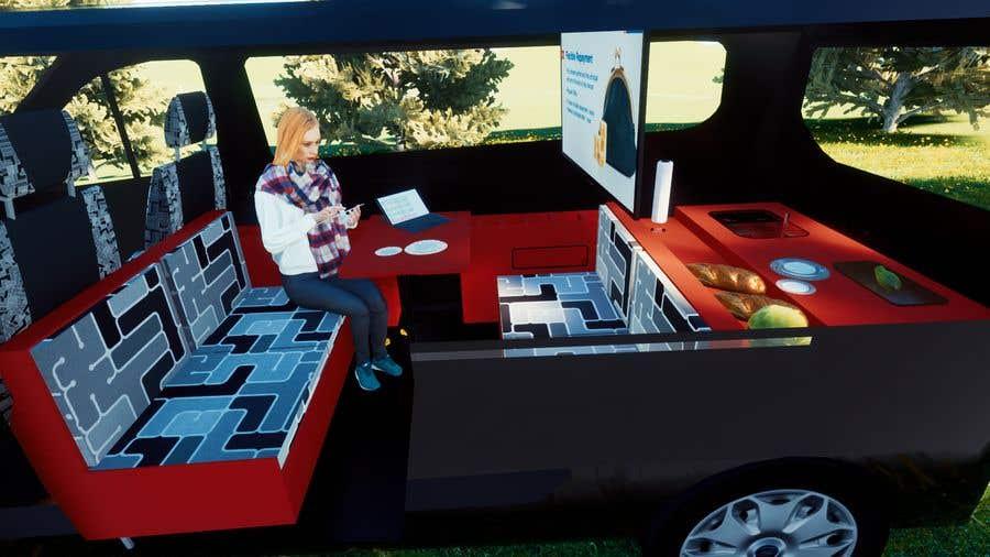 Penyertaan Peraduan #                                        6                                      untuk                                         Interior design (Artist impression) for a Car (Van)