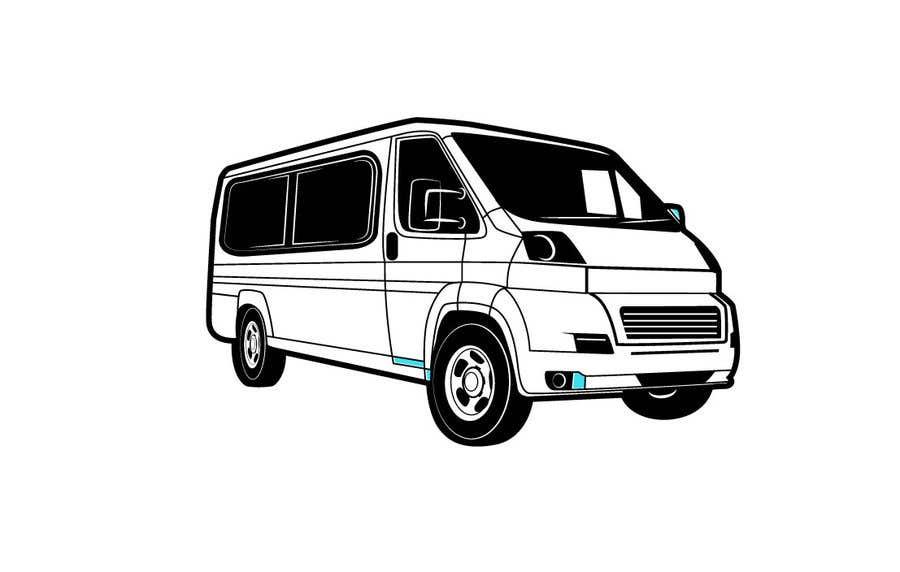 Penyertaan Peraduan #                                        9                                      untuk                                         Interior design (Artist impression) for a Car (Van)