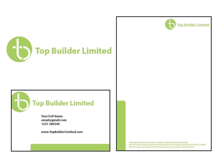 Konkurrenceindlæg #                                        30                                      for                                         Design some Stationery and Business Cards for Top Builder Limited