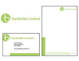 Nro 30 kilpailuun Design some Stationery and Business Cards for Top Builder Limited käyttäjältä Tharaka1