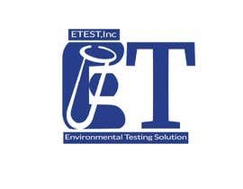 "#57 cho See attached flyer. I need a modern looking logo for our new company ""ETest, Inc."" Please add as part of logo,""Environmental Testing Solutions"". bởi mahfuz45"
