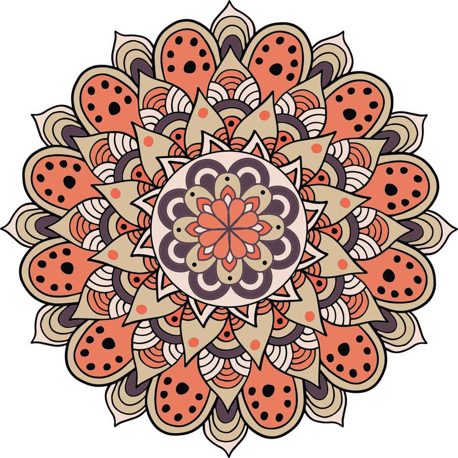 Penyertaan Peraduan #                                        9                                      untuk                                         I need the below mandalas colored interior, and lines if needed. All 15.  if the job is good i will provide more work for youq