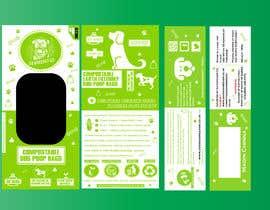 DivakarJK tarafından Packaging for eco friendly dog poo bags için no 18
