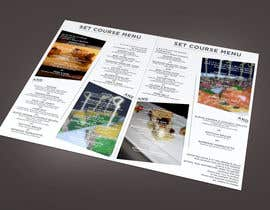 #22 untuk Design a Restaurant Menu for Modern Japanese Restaurant oleh turtledes