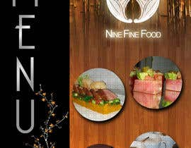 nº 26 pour Design a Restaurant Menu for Modern Japanese Restaurant par ideafuturot