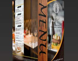 #44 for Design a Restaurant Menu for Modern Japanese Restaurant by mostofafx