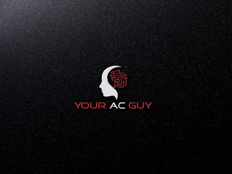 Bài tham dự cuộc thi #                                        221                                      cho                                         Air conditioner company logo (Your AC GUY)