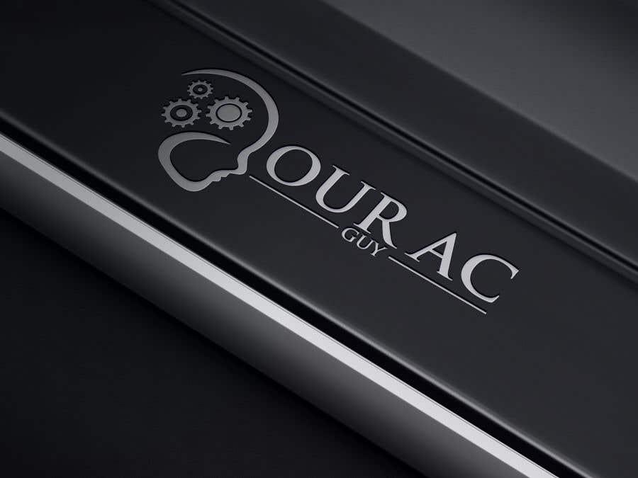 Bài tham dự cuộc thi #                                        217                                      cho                                         Air conditioner company logo (Your AC GUY)