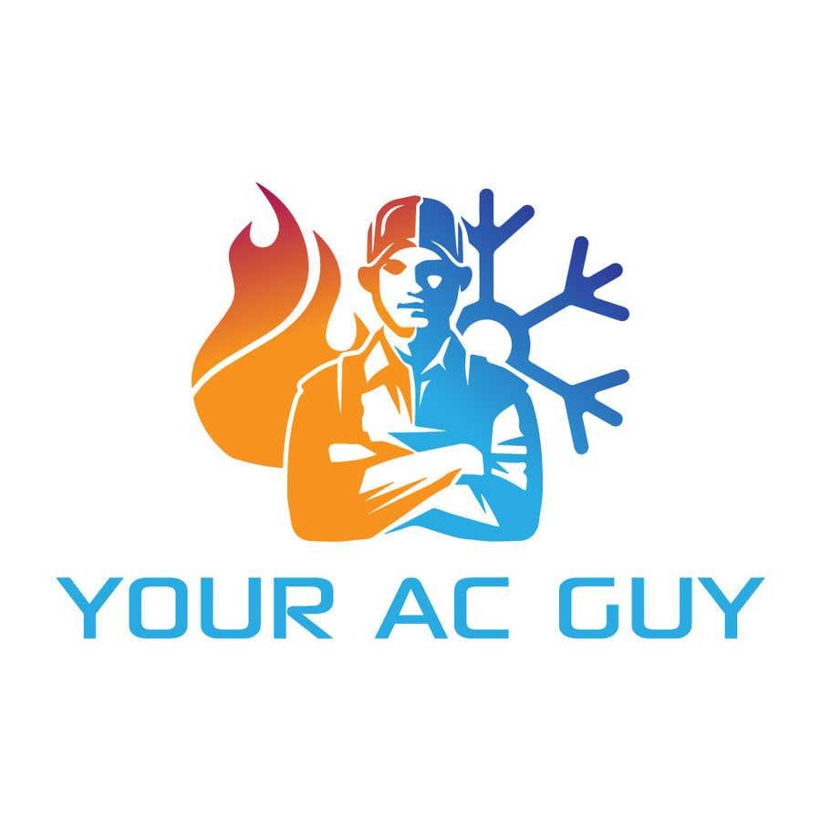 Bài tham dự cuộc thi #                                        237                                      cho                                         Air conditioner company logo (Your AC GUY)