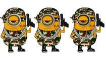 Draw me a Minion with exaggerated swagger for online community için Graphic Design27 No.lu Yarışma Girdisi