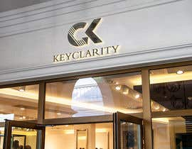 "#208 для I need a logo for ""Keyclarity"". My initials are CK if u can put CK on top of each other But also include the entire name ""Keyclarity"". use the corlors blue and green and a neutral color like black or white. include something that represents clarity от MoElnhas"