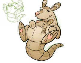 #19 for ILLUSTRATION KANGAROO CHARACTER by emerludwin