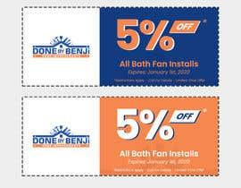 Nro 20 kilpailuun Make coupon design for business käyttäjältä didifarizal