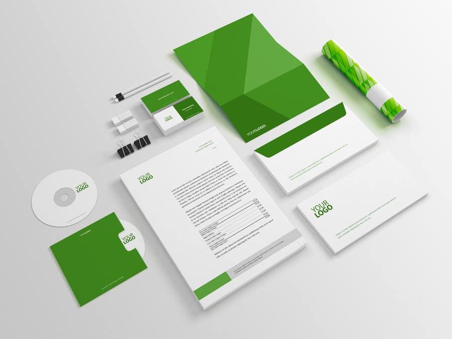 Penyertaan Peraduan #7 untuk Business card, letterhead, document folder -- 2