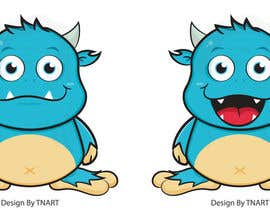TNART tarafından Design a Cartoon Monster for a Media Company için no 109