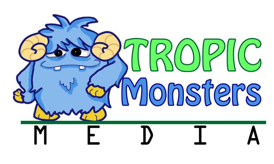 Inscrição nº 62 do Concurso para Design a Cartoon Monster for a Media Company