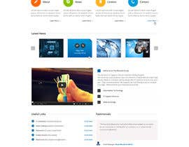 #23 para Website Design for IT Company por gerardway