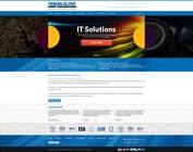 Graphic Design Konkurrenceindlæg #13 for Website Design for IT Company