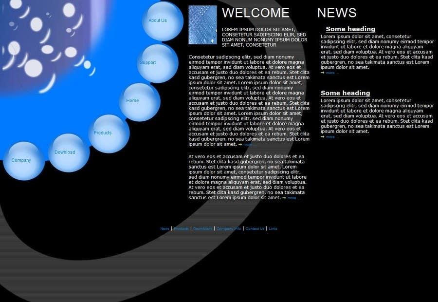 Konkurrenceindlæg #                                        8                                      for                                         Design a website Mockup for wordpress