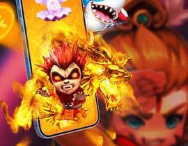 #49 for Gaming app promo banner design af rashadujjamanr