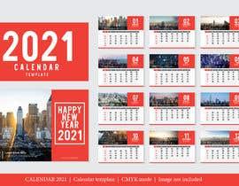 #13 for create a 2021 calendar for print by hassanshafiq510